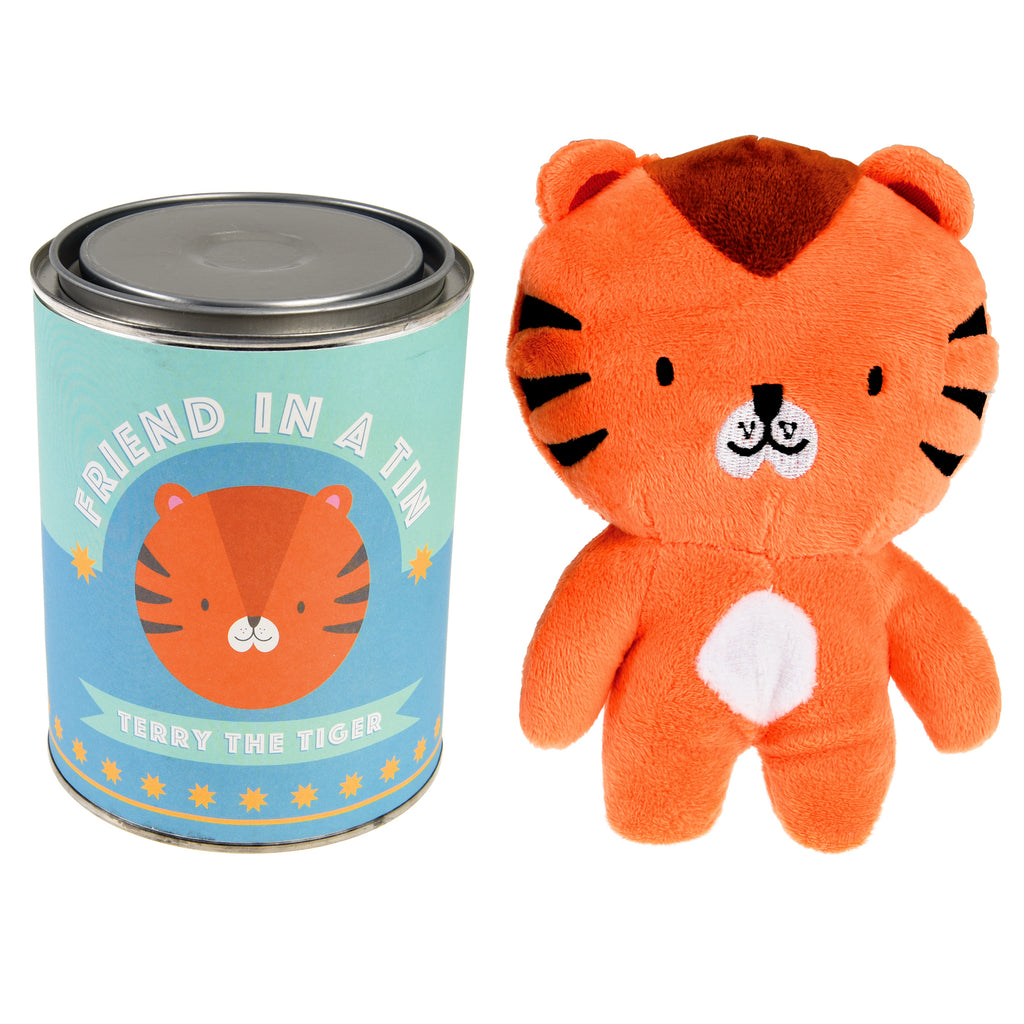 Terry The Tiger - Friend In A Tin