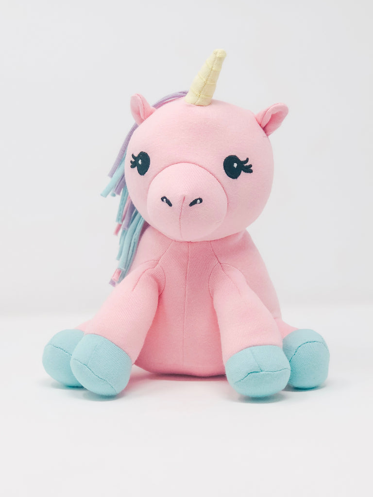 Rainbow The Unicorn - Organic Plush Animal