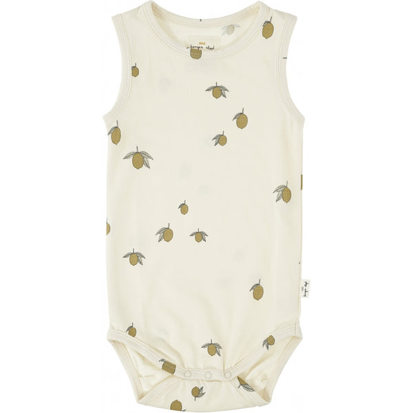 Tank Bodysuit - Lemon
