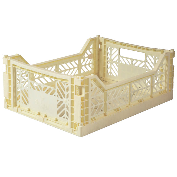 Banana Folding Crate - Medium