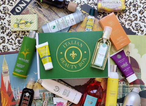 Italian Beauty Products in a Box
