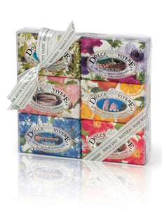 DOLCE VIVERE 6-PC SOAP SET