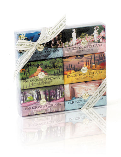 EMOZIONI IN TOSCANA 6-PC SOAP SET