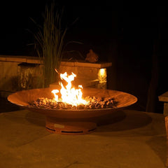 Outdoor Heating-Fire Pit on Balcony