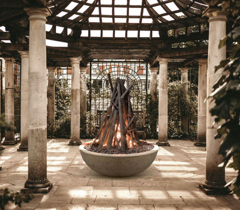 Wood burning in Fire Bowl-How to Choose Perfect Fire Pit