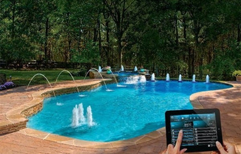 relax with robotic pool cleaner