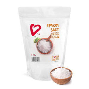 1KG,  Epsom Salts - Fantastic Bath Salts & Many other uses