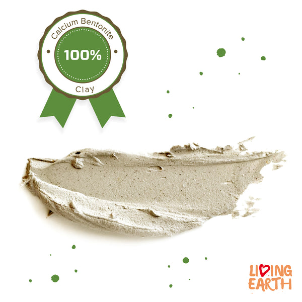 500 gr, Pure Bentonite Clay, 100% Natural Origin