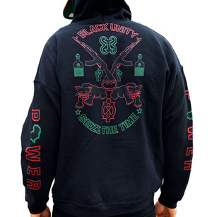 Black Seize the Time Hoodie