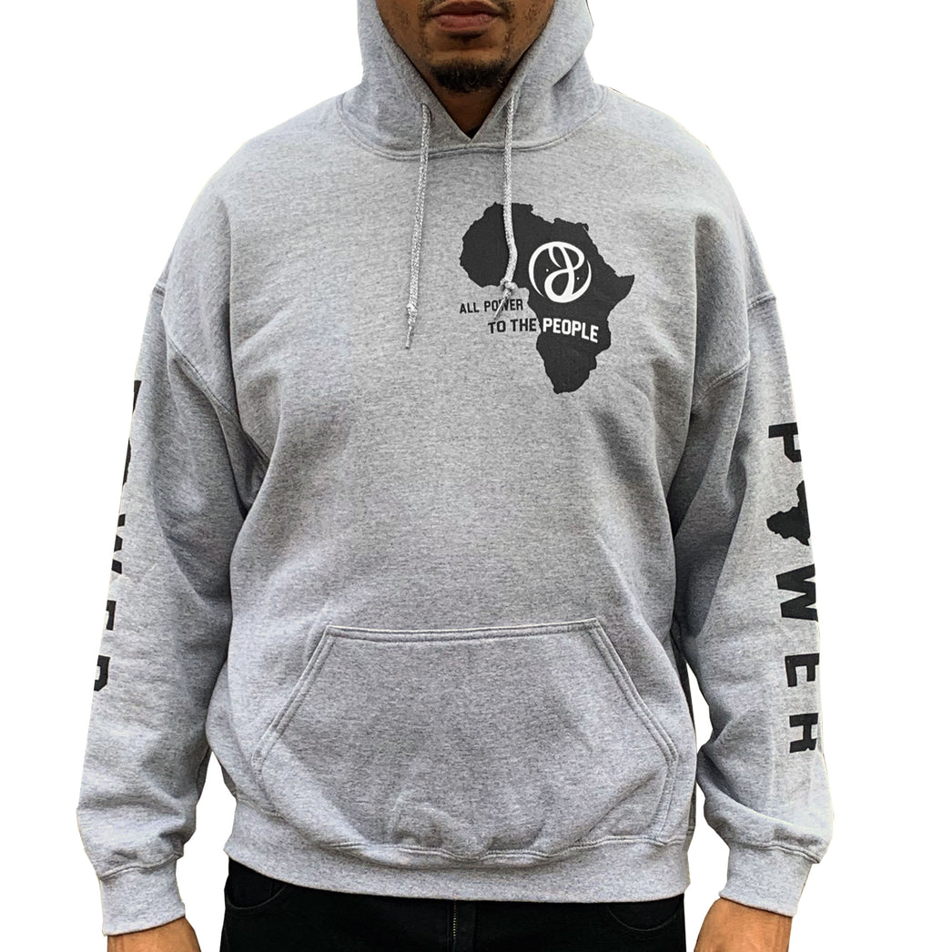 Grey Seize the Time Hoodie