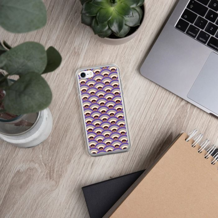 Japanese art - seigaiha wave pattern on an iPhone case