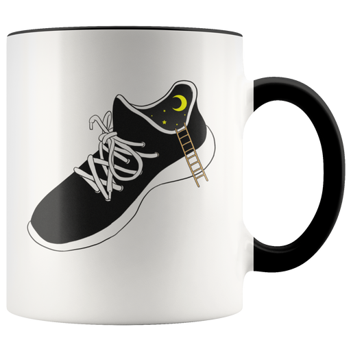 The magical sneaker coffee mug