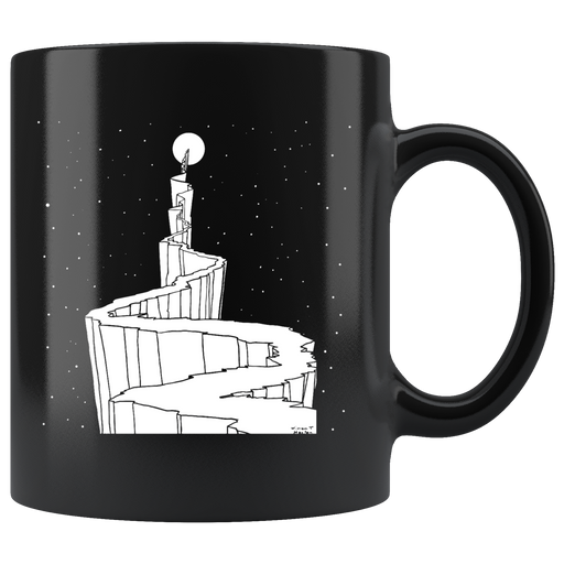 Path to the Moon art nouveau mug - W. T. Horton