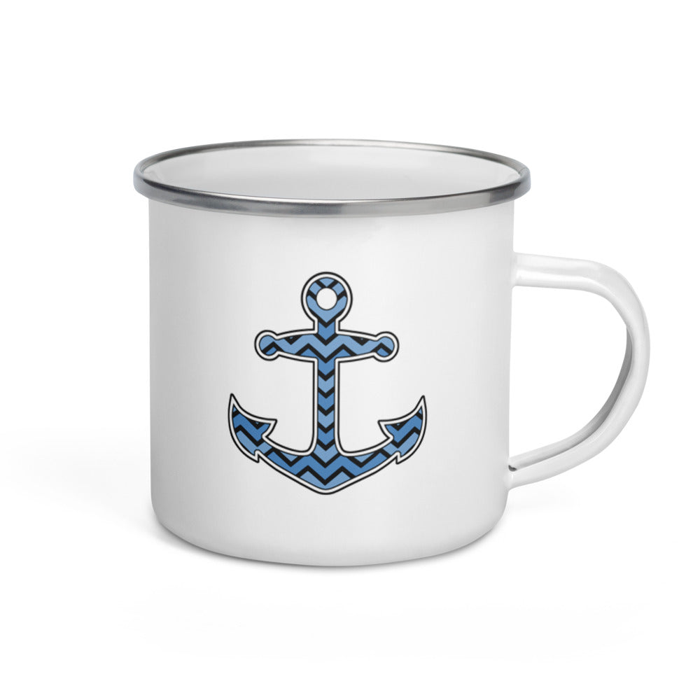 Anchor mug for sailing and boating enthusiasts