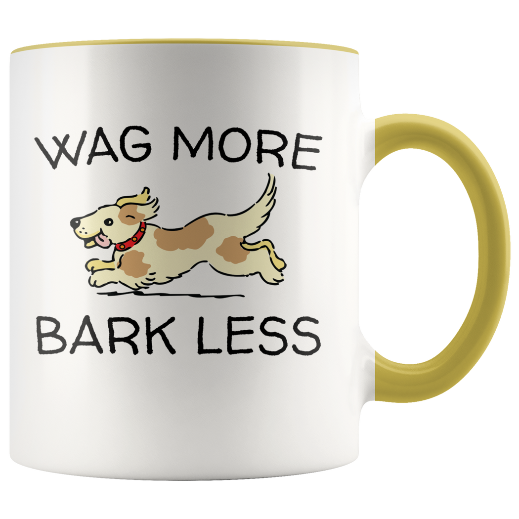 Wag more bark less mug – not just for dog lovers