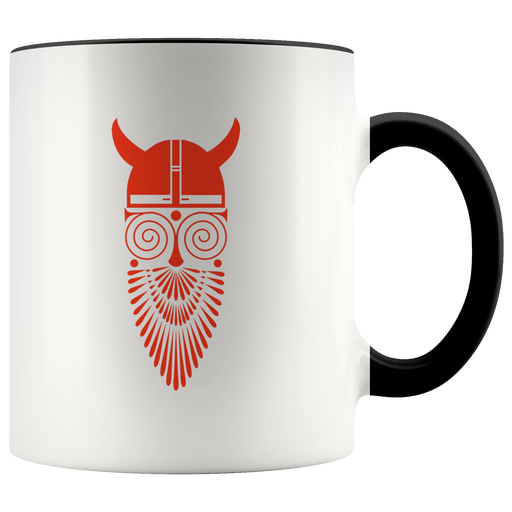 Whacky Viking mug -- funny Viking-mythology design