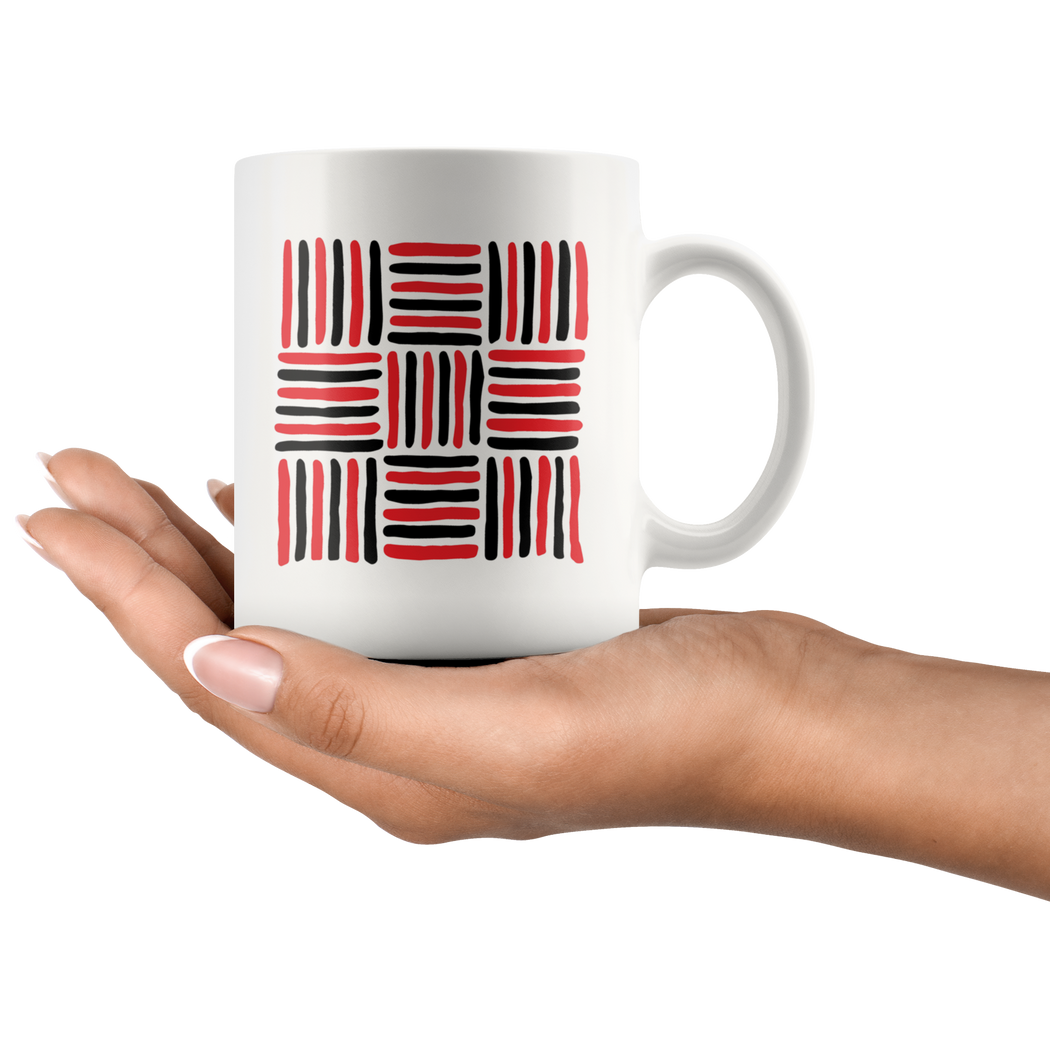 Abstract design coffee mug #1 -- Walter Crane