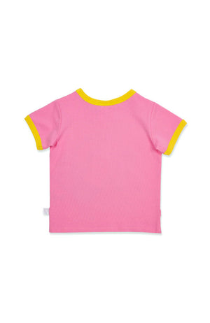 Sunshine Lollipops & Rainbows ringer tee