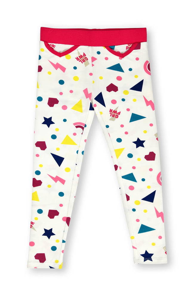 Stars & Shapes leggings