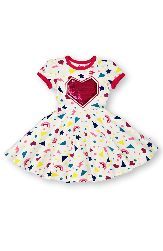 Stars & Shapes dress