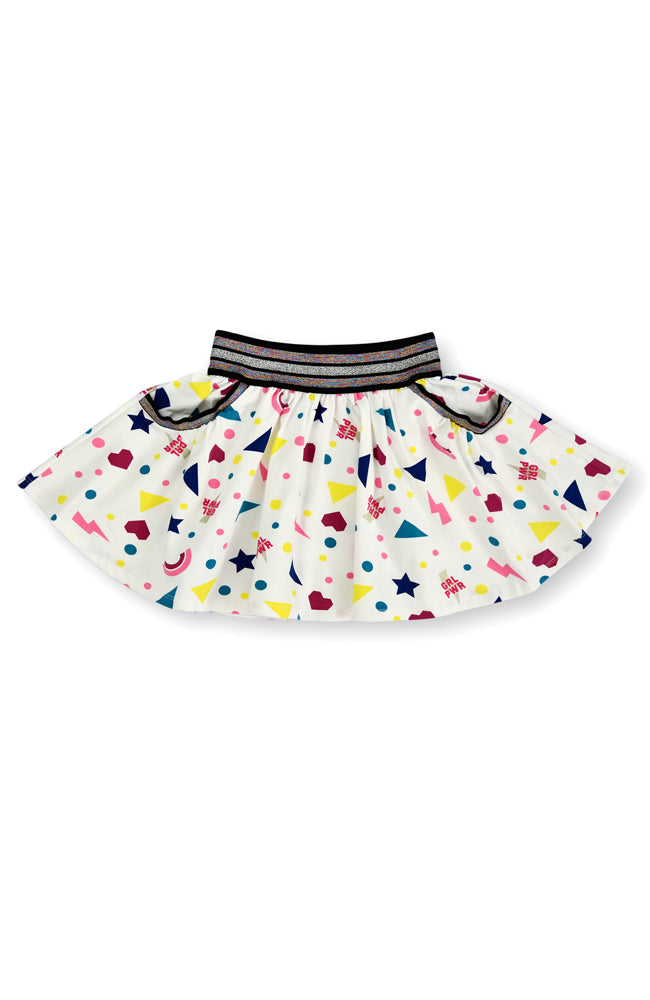 Stars & Shapes skater skirt