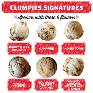 Clumpies Signatures Pint Pack