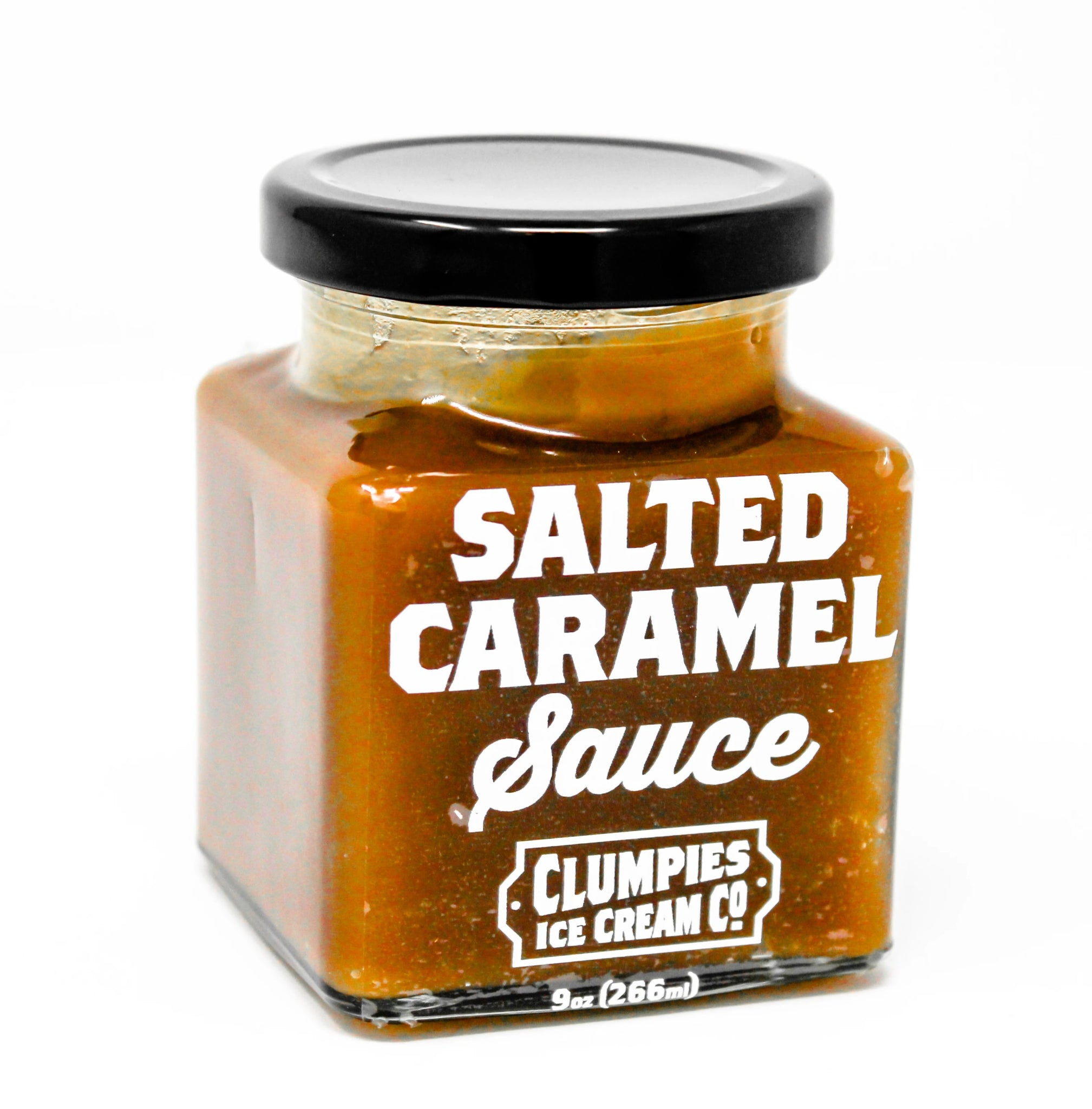 Clumpies House Made Salted Caramel Sauce