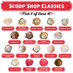 Scoop Shop Classics Pint Pack