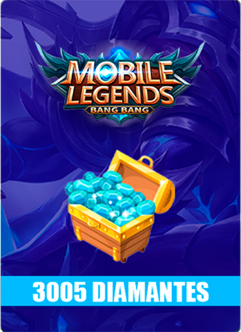 Mobile Legends 3005 Diamantes - Todo Licencias PTY