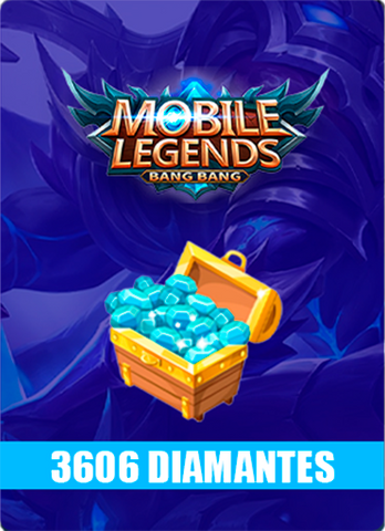 Mobile Legends 3606 Diamantes - Todo Licencias PTY