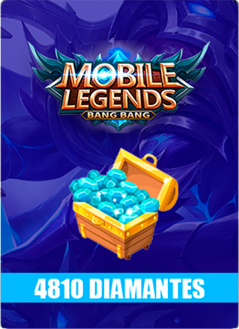 Mobile Legends 4810 Diamantes - Todo Licencias PTY