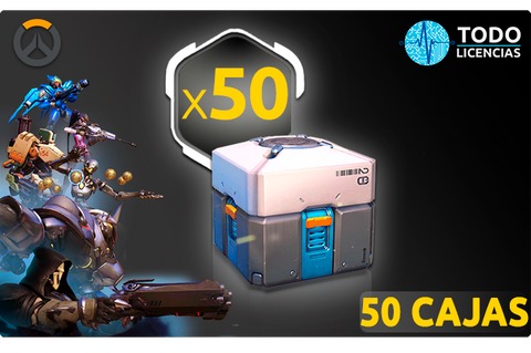 Botín x50 - Overwatch PC - Todo Licencias PTY