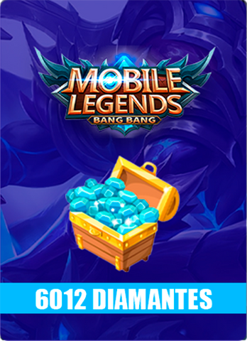 Mobile Legends 6012 Diamantes - Todo Licencias PTY
