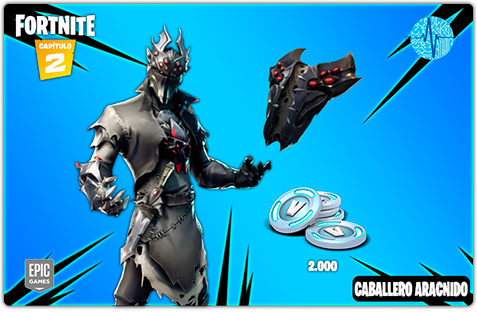 Fortnite - Rogue Spider Knight Pack - Todo Licencias PTY