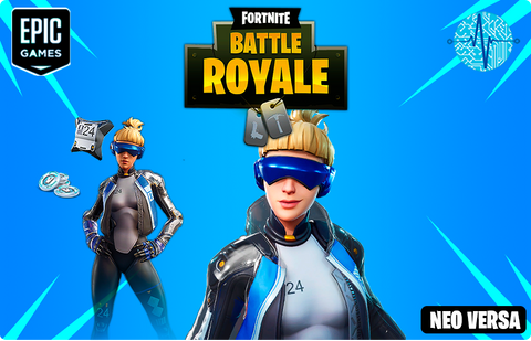 Fortnite - Neo Versa + 500 paVos PSN USA - Todo Licencias PTY
