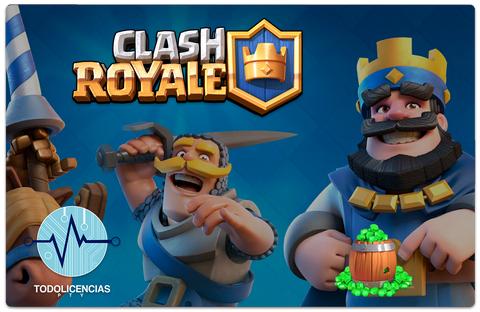 Clash Royale - 2500 Gemas - Todo Licencias PTY