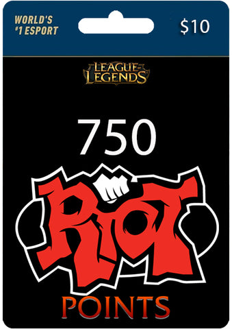 Riot Points LOL RP LAN - Todo Licencias PTY