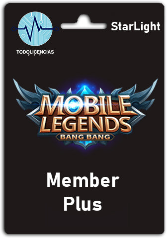 Mobile Legends Starlight Member Plus - Todo Licencias PTY