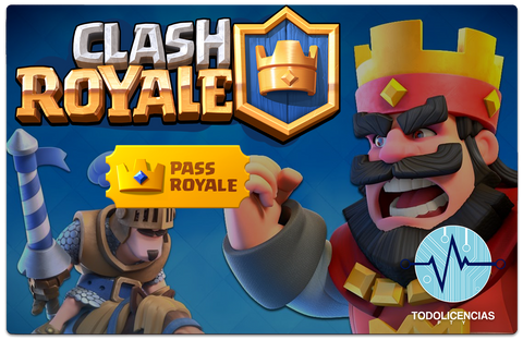 Clash Royale - Pass Royale - Todo Licencias PTY