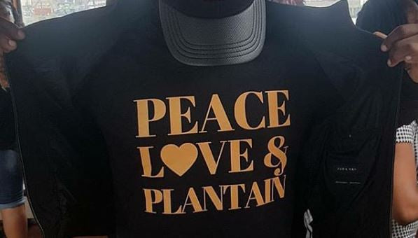 Peace, Love & Plantain T-Shirt