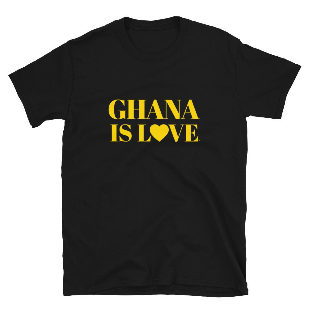 """Ghana Is Love"" Short-Sleeve Unisex T-Shirt"