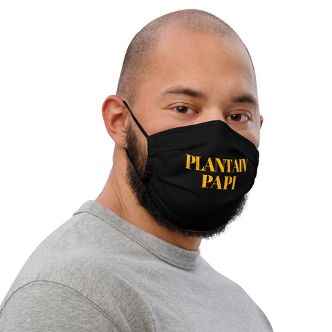 Plantain Papi Premium face mask