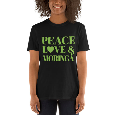 Peace, Love & Moringa Unisex T-Shirt