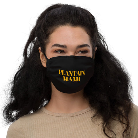 Plantain Mami Premium face mask
