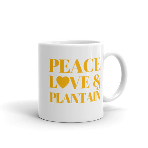 Peace Love & Plantain Mug