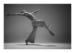 B/W Large Format Limited Edition Prints of Dancers Photographed in the Studio