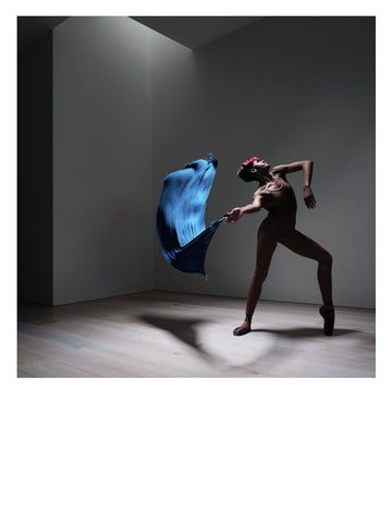 Paje Campbell at Studio Wayne McGregor 2019.