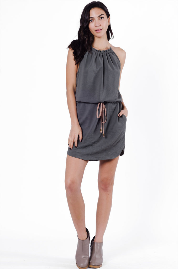 Daria Halter Dress