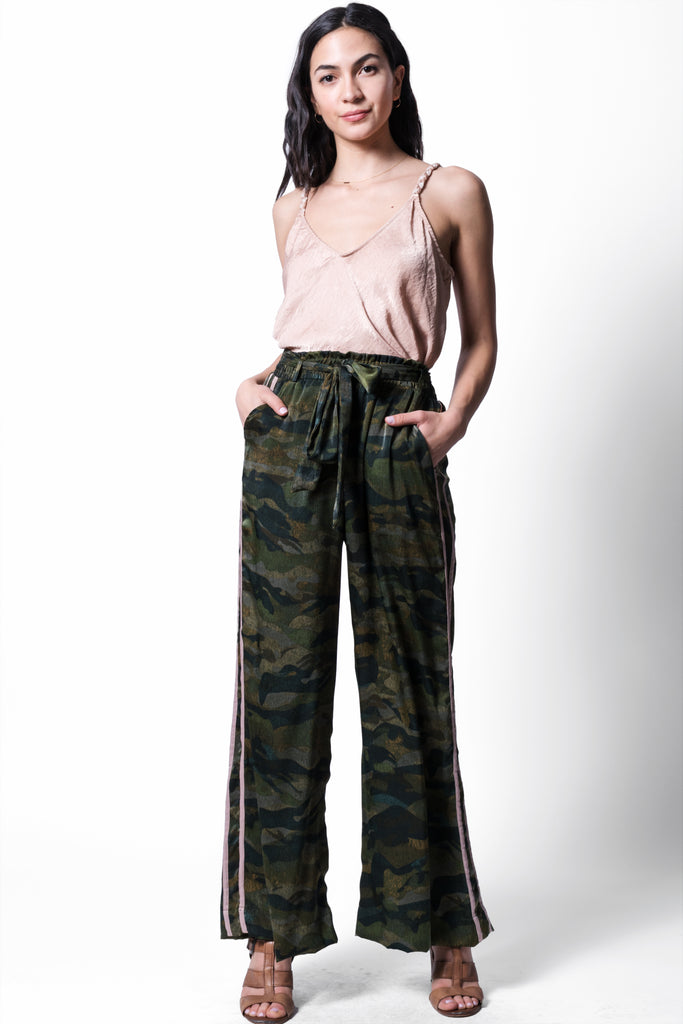 Camo Sateen Mitchell Pant