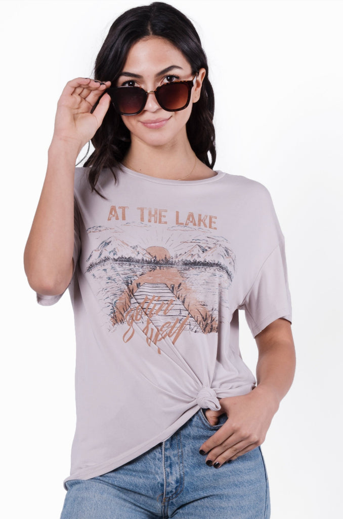 At The Lake Graphic Tee